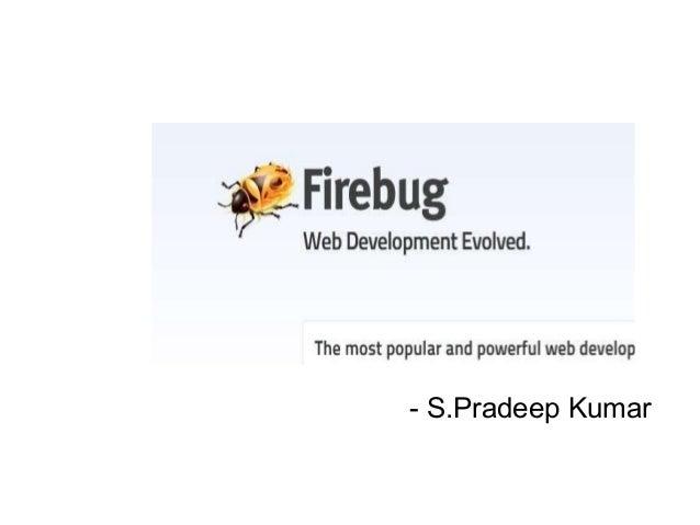 - S.Pradeep Kumar
