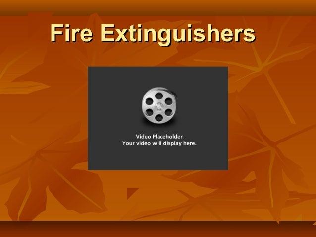 Fire extinguishers-testing