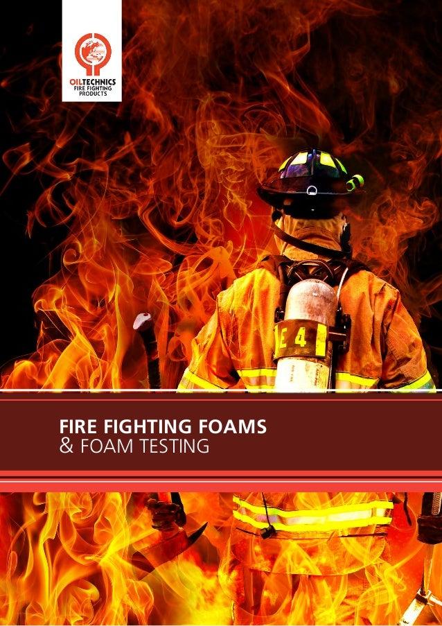 Oil Technics Ltd (OTL):Fire Fighting Foams Brochure