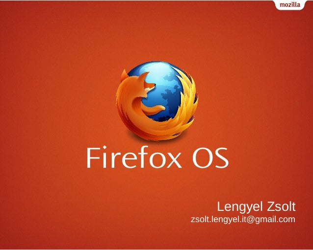 Firefox os-introduction