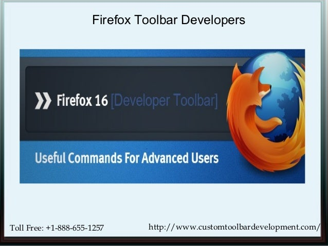 Firefox Developers Use the Best Toolbar Developments Tools