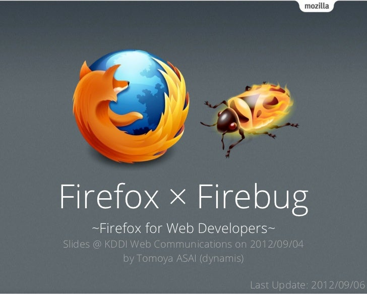 Firefox and Firebug with Foxkeh