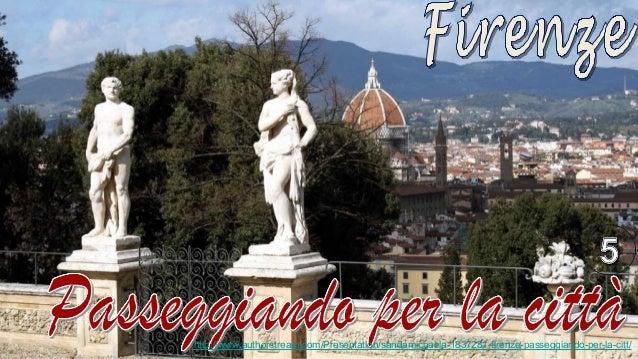 Firenze Passeggiando per la città5