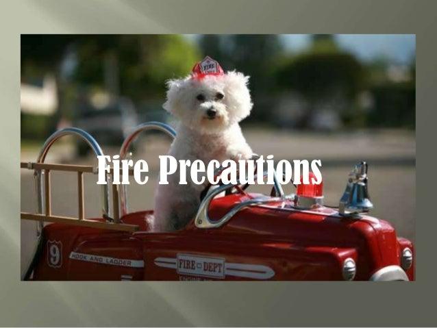 Fire precautions. калистратова маша