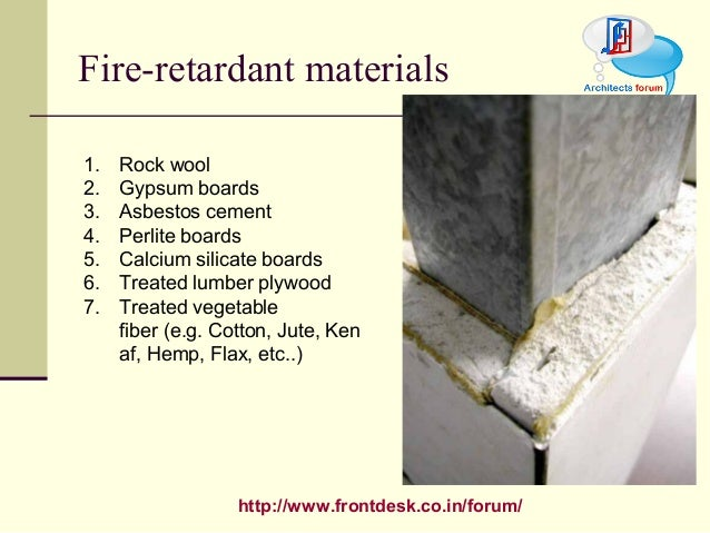 Fire proof finish for Rockwool fire rating