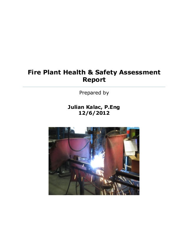book report on fire safety