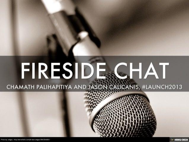 Fireside Chat with Chamath Palihapitiya