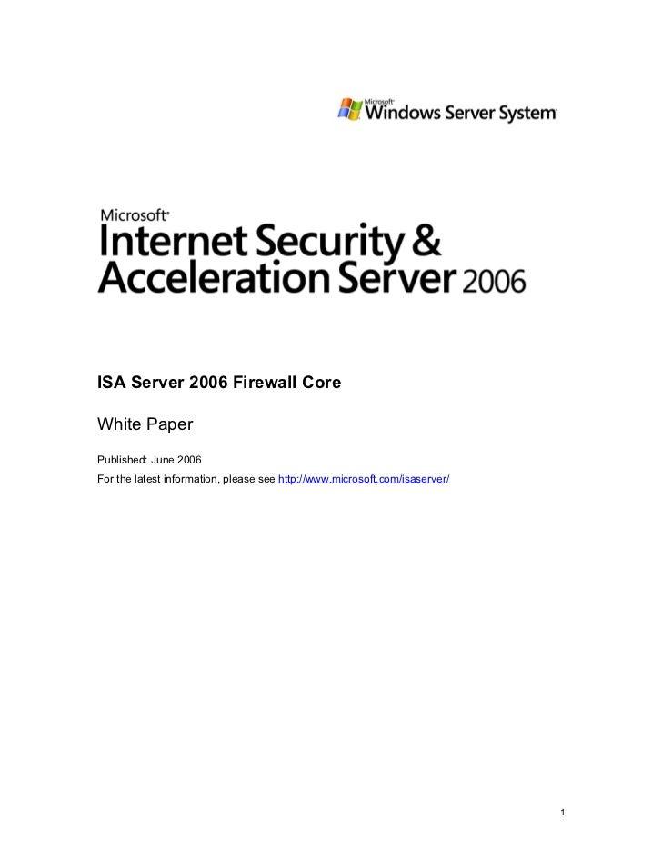 Firewall corewp