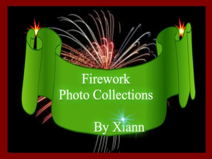 Firework photo collections