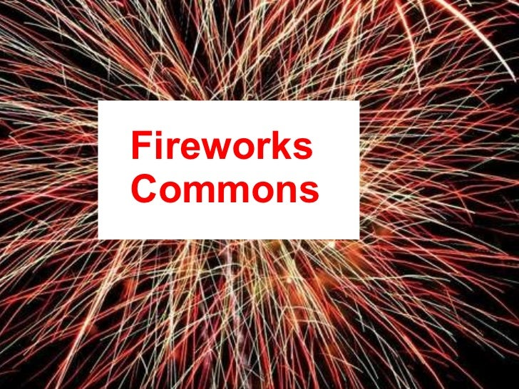 Fireworks  Commons