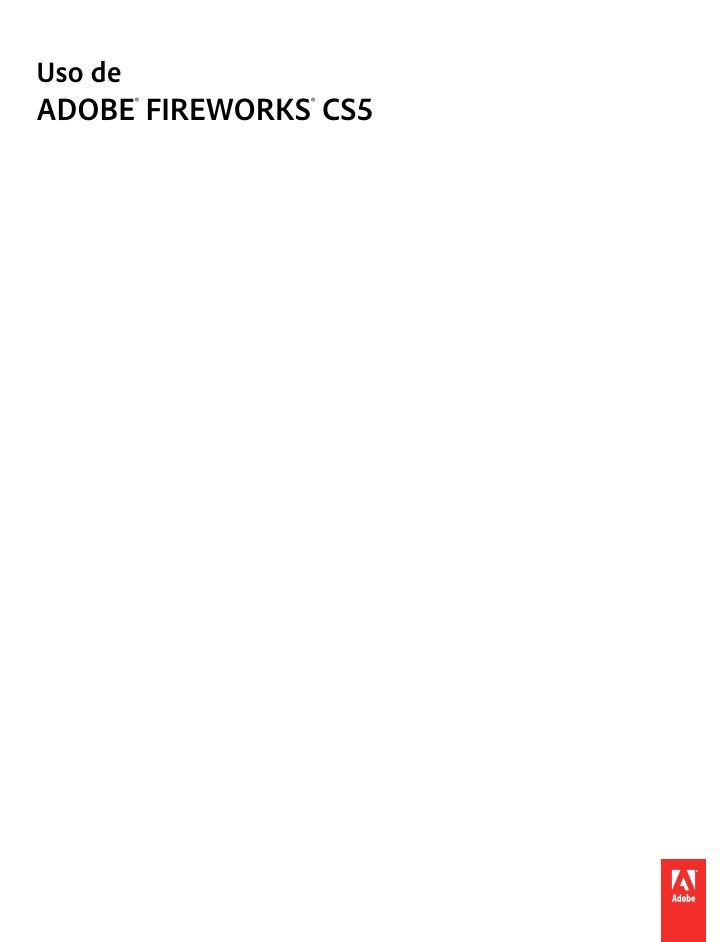Uso deADOBE® FIREWORKS® CS5