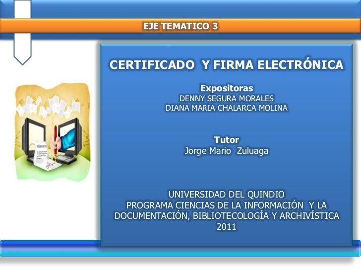 firma electronica venezuela: