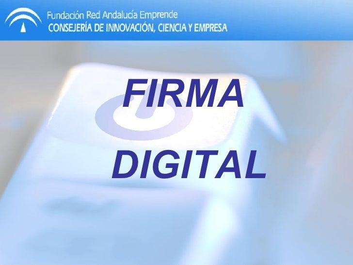 Guadalinfo de Campillo de Arenas - Firma Digital