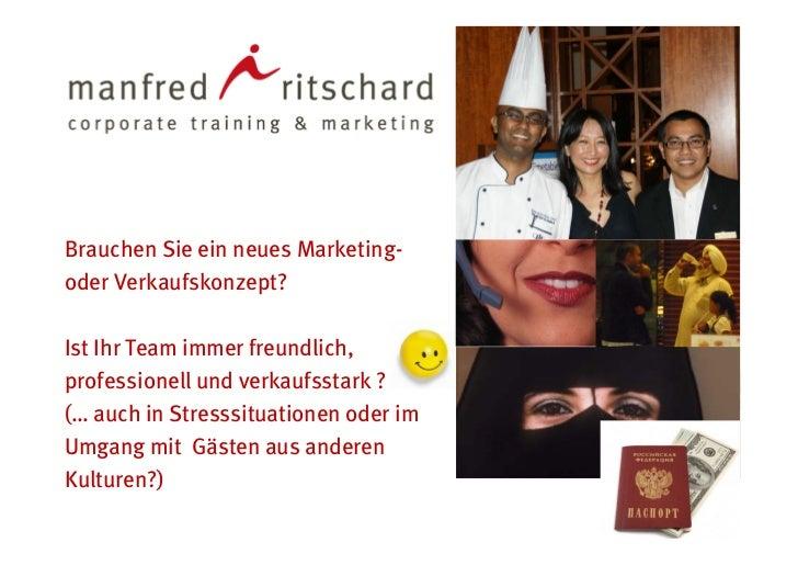 Firmenpräsentation Manfred Ritschard & Partner 2011