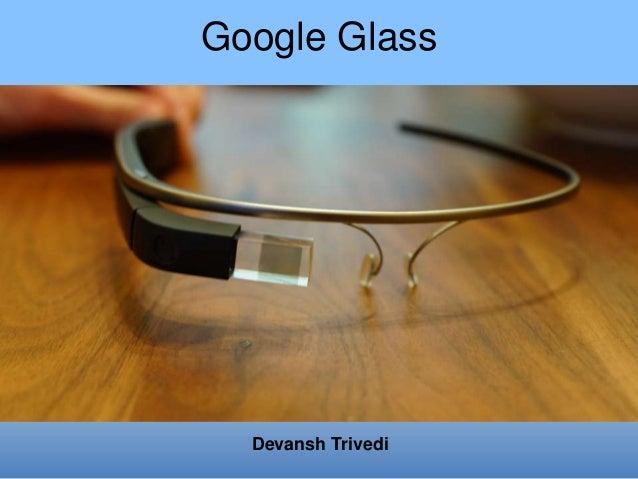 Google Glass Basic Information
