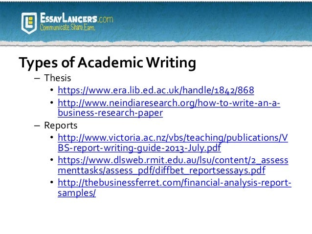 Providing Academic Writing Services - The Academic Papers UK