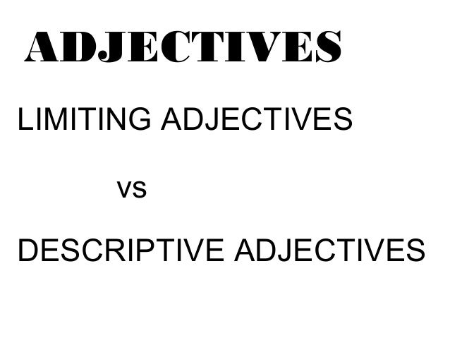 First grade-adjectives-lesson
