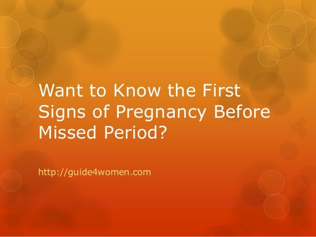 Early Symptoms Of Pregnancy First 2 Weeks