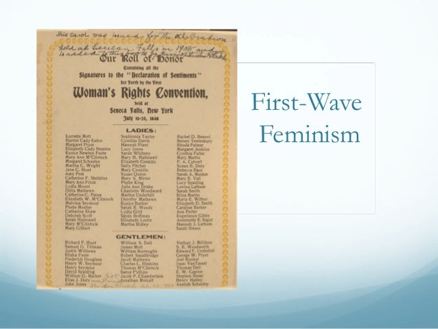 first wave feminism essay And i found feminism: however, this criticism of first wave feminism does not acknowledge the immense effort that first wave feminists put into their goal the first women i read the essays and works of other young feminists.