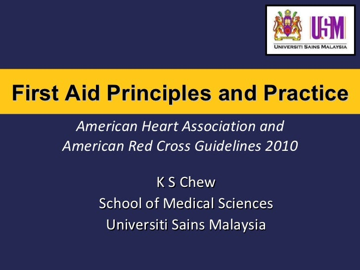 First aid 2011