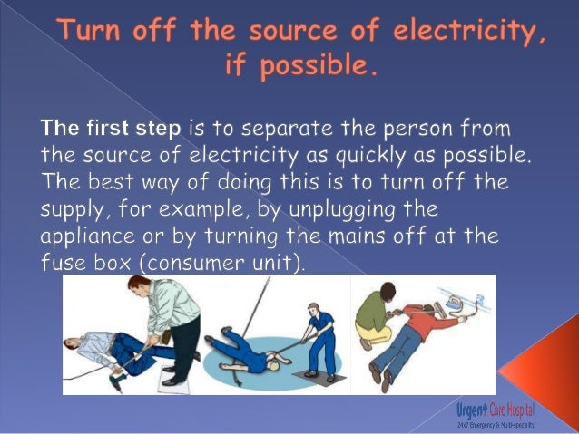 first aid treatment for electric shock