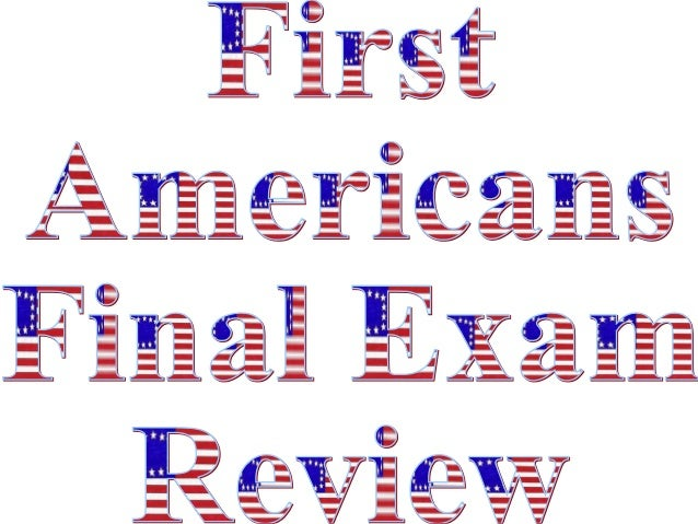 First americans internet review pp