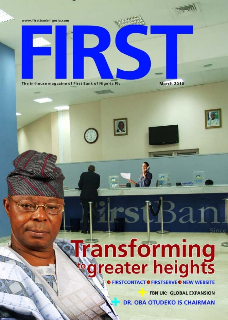 FirstBank Nigeria Corporate Magazine