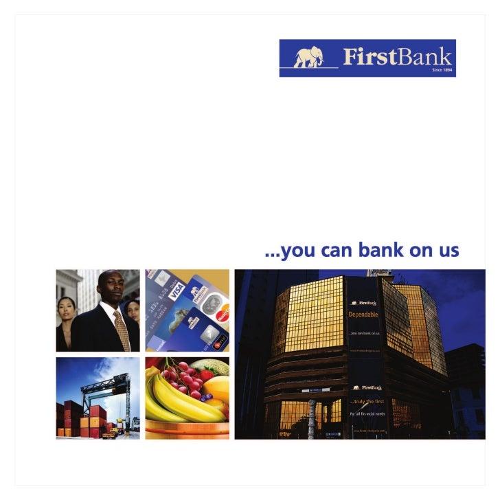 FirstBank Nigeria Corporate Brochure