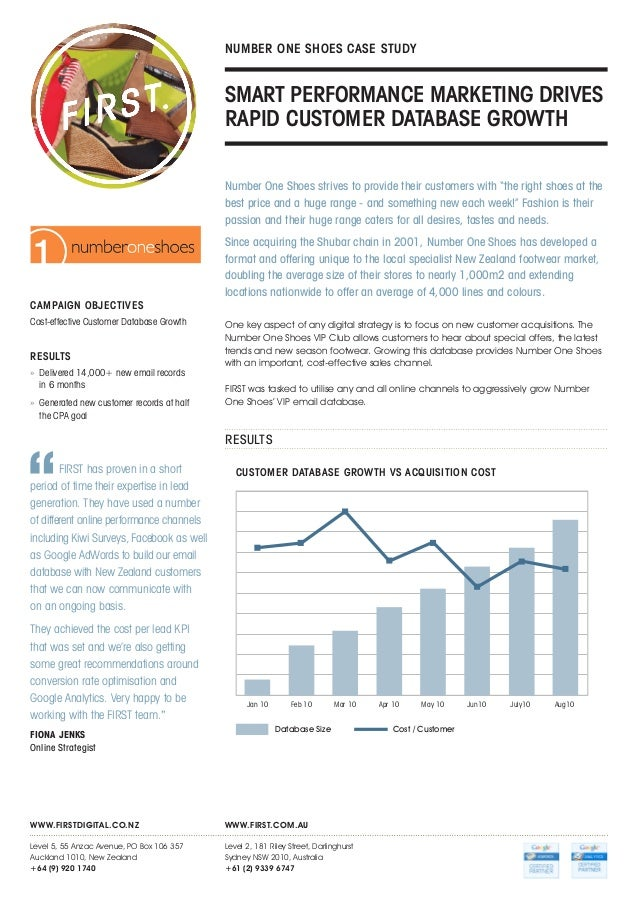 footwear international case study However, sales are improving slightly, especially in the areas of running shoes, cross-trainers and basketball shoes therefore, companies with strong brands will increasingly turn to international markets for growth.