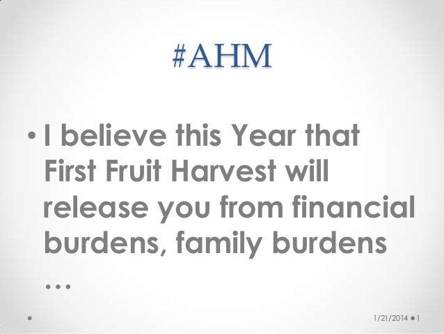 First fruits 2