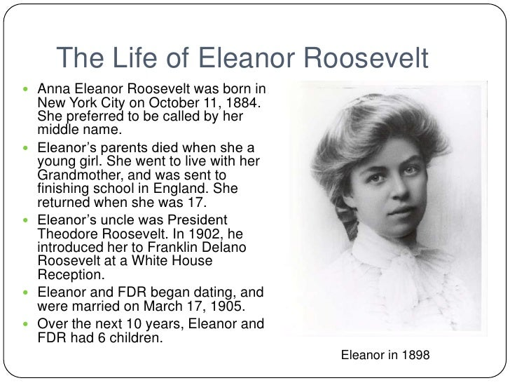 the life and career of the soft spoken eleanor roosevelt Biography of eleanor roosevelt than 250 people from every corner of tiger woods's life—many of whom have never spoken about him on the record and soft.