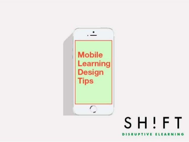 Mobile Learning Design Tips