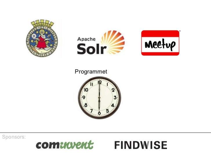 First oslo solr community meetup lightning talk janhoy