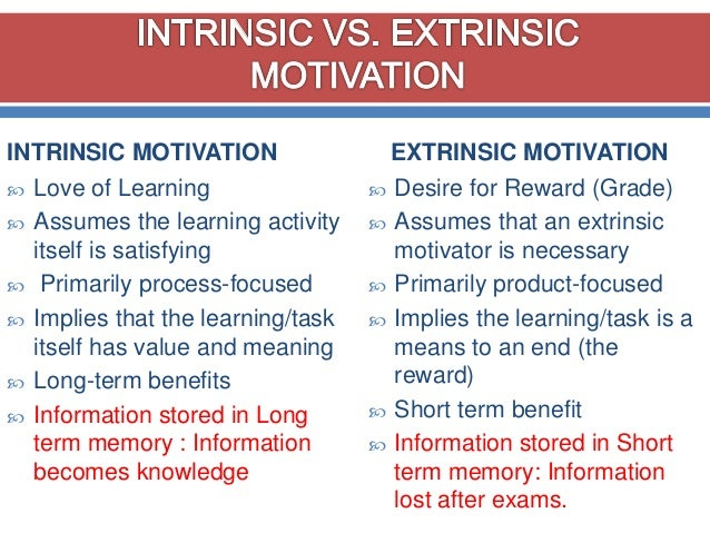 Intrinsically motivating students to learn | kidsteachers