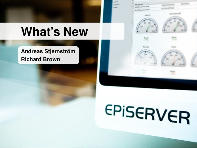 EPiServer Introduction and Update: Part 1