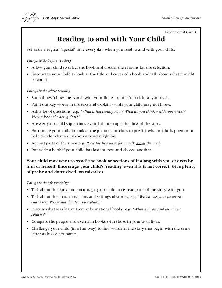 MyRead  First Steps Reading Developmental Continuum