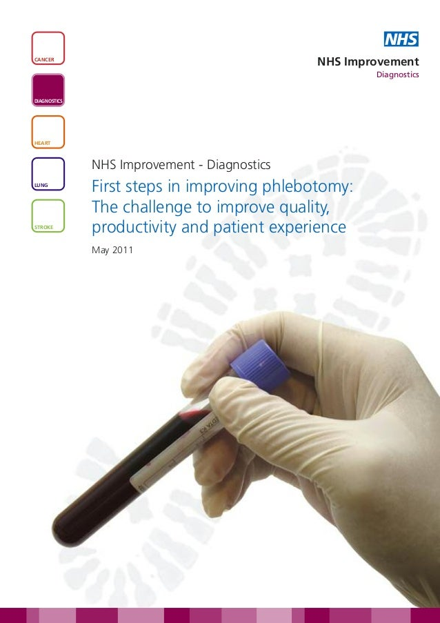 First steps in improving phlebotomy: the challenge to improve quality, productivity and patient experience