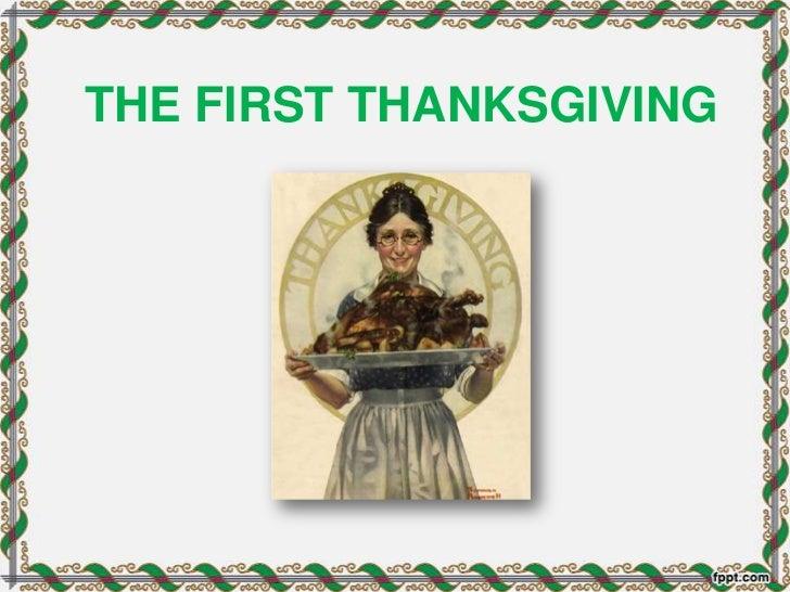 First thanksgiving1