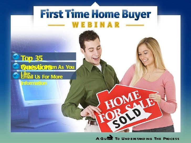 First time home buyer webinar   usa