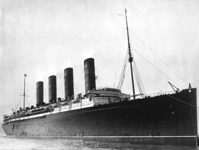 First World War Centenary: 'The Lusitania'