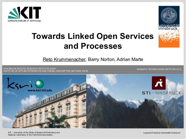 Towards Linked Open Services and Processes