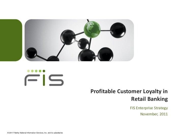 Profitable Customer Loyalty in                                                                                           R...