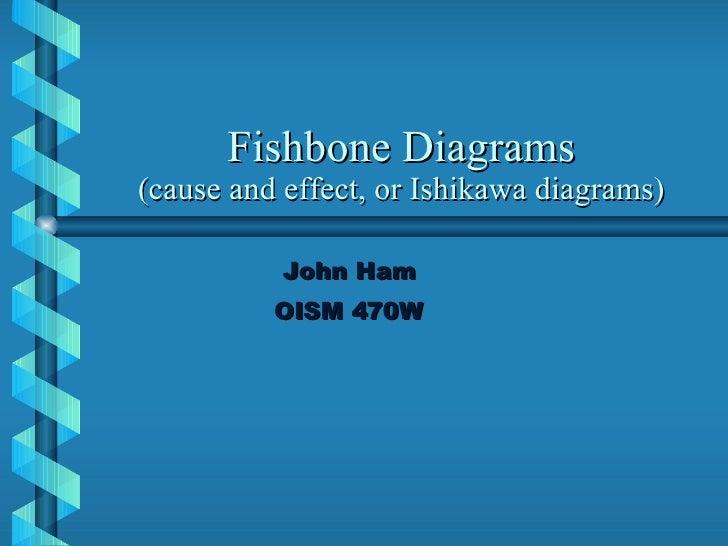 Fisbone Diagrams Assgnmnt1