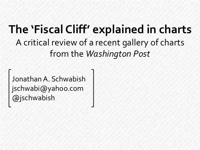 The 'Fiscal Cliff' explained in charts