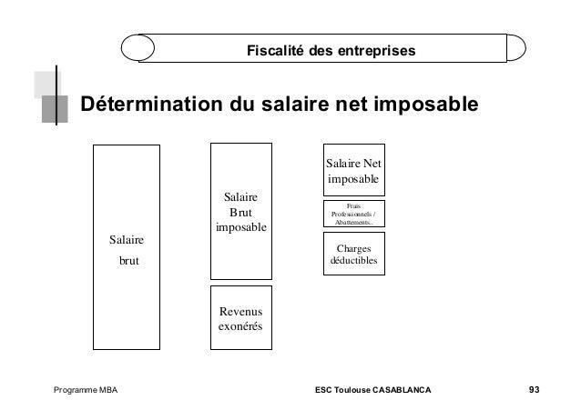 Fiscalite part 1 - Plafond salaire imposable ...