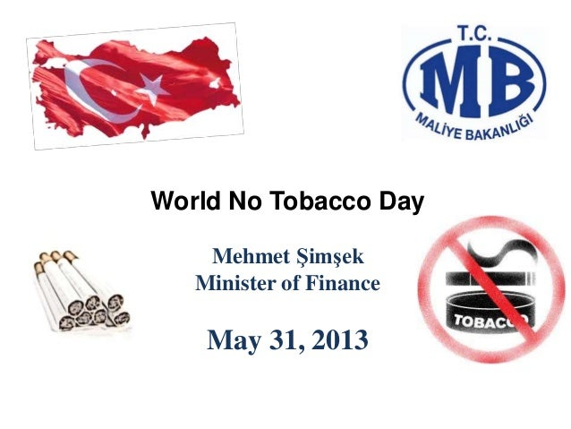 Fiscal policies on tobacco products v5   31.05.2013