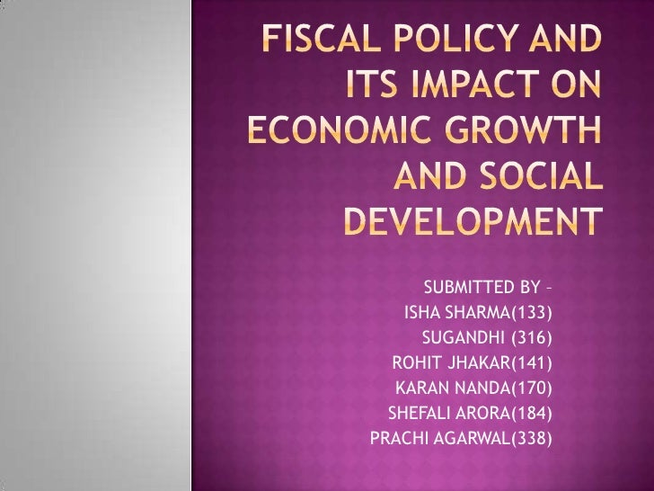 Fiscal policy ea