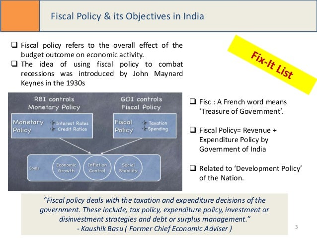 fiscal policy meaning its main object Static main menu home  fiscal policy: meaning, objectives and other information   article on economics  meaning of fiscal policy.