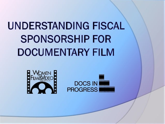 Fiscal sponsorship presentation roundtable
