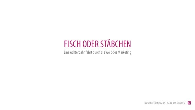 Fisch oder Stäbchen?